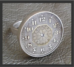 Elgin watch ring