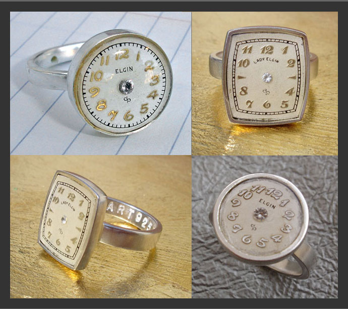 Elgin watch rings
