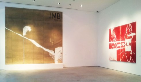 "Julian Schnabel: ""JMB"" (1988), and ""Lola"" (1989)"