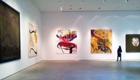 Julian Schnabel @ Centro Italiano Arte Contemporanea, Foligno
