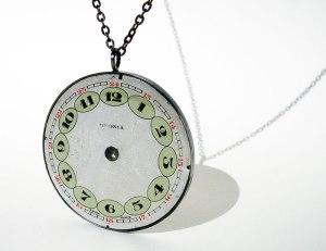 art925 pocket watch pendant